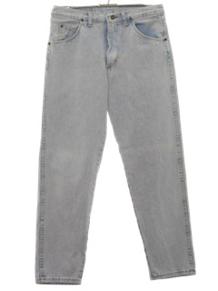 1980's Mens Totally 80s Acid Washed Jeans Pants