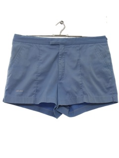 1980's Mens Tennis Sport Short Shorts