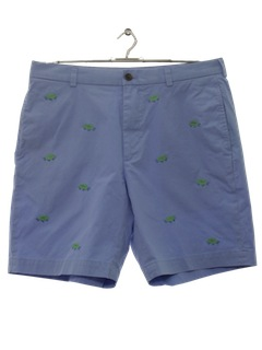 1980's Mens Totally 80s Saturday Shorts