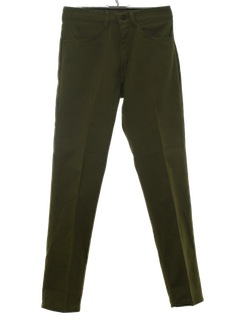 1960's Mens Skinny Mod Jeans Cut Pants
