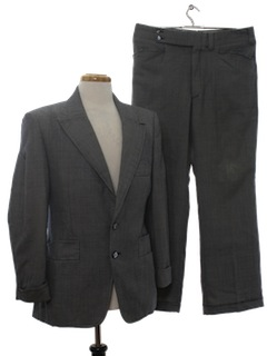 1970's Mens Wool Suit