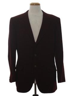 1970's Mens Cashmere Blazer Sport Coat Jacket