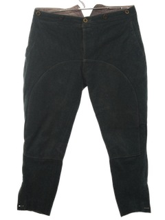 1940's Mens Wool Jodhpurs or Lederhosen Slacks Pants