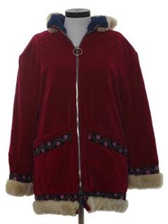 1960's Womens Velvet Jacket