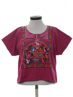 1980's Womens Hippie Shirt