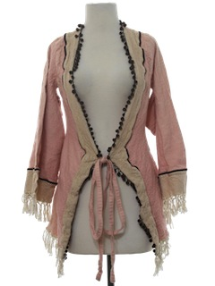 1970's Womens Hippie Robe