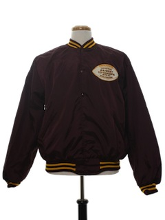 1970's Mens Football Racing Style Jacket