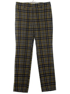 1970's Mens Wool Golf Pants