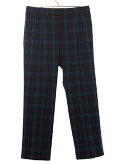 1980's Mens Wool Pendleton Golf Pants