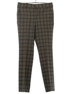 1970's Mens Wool Leisure Pants