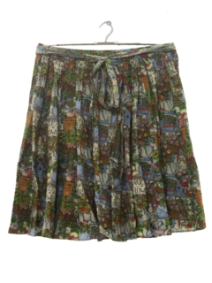 1990's Womens Cat-tastic Skirt