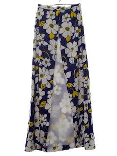 1970's Womens Mod Skirt