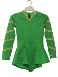1970's Womens/Girls Gymnastic Style Dress