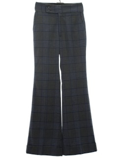 1970's Mens Bellbottom Slacks Pants