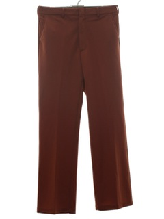 1970's Mens Flared Disco Pants