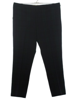 1980's Mens Totally 80s Wool Slacks Pants