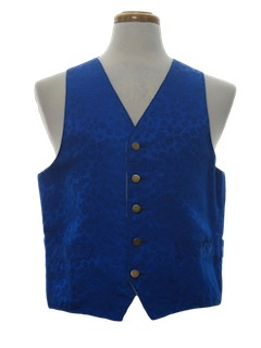 1960's Mens Fancy Vest
