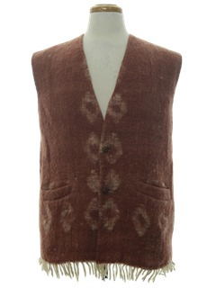1960's Mens Hippie Vest
