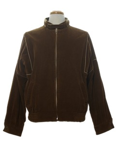 1980's Mens Corduroy Zip Jacket