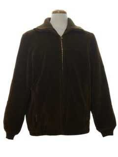 1960's Mens Corduroy Zip Jacket