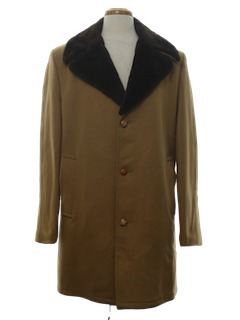 1970's Mens Overcoat Jacket