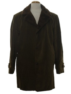 1970's Mens Corduroy Coat Jacket