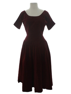 1950's Womens Fab Fifties Designer Dress