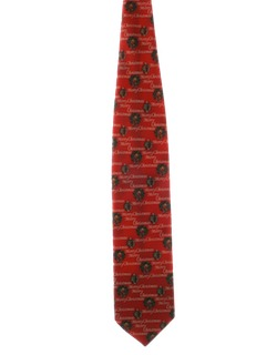 1990's Mens Accessories - Wide Ugly Christmas Necktie to Wear With Your Sweater