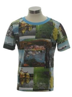 1970's Unisex Photo Print T-Shirt