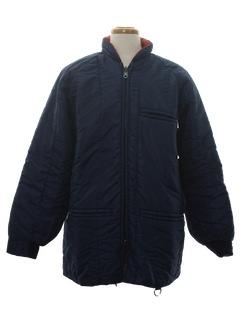 1980's Mens Ski Style Reversible Jacket