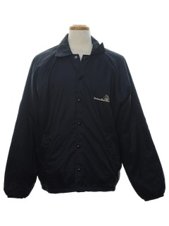 1970's Mens Racing Style Windbreaker Jacket