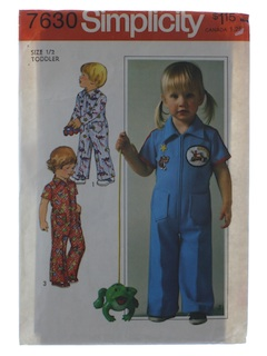 1970's Unisex Childs Pattern