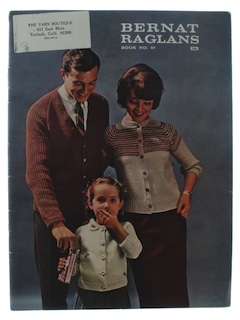 1960's Unisex Knitting Book