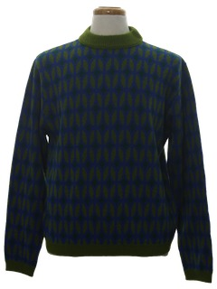 1960's Mens Mod Sweater