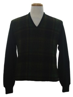 1960's Mens Mod Mohair Sweater