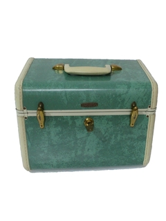 1950's Womens Accessories - Small Travel Suitcase