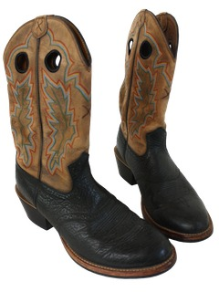 1990's Mens Accessories - Western Boots Shoes