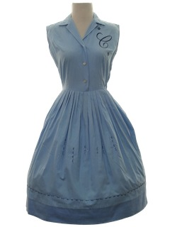 1950's Womens 50s Day Dress