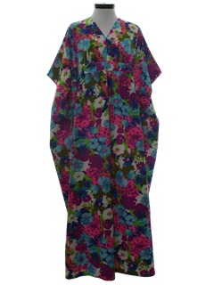 1960's Womens Muumuu Dress