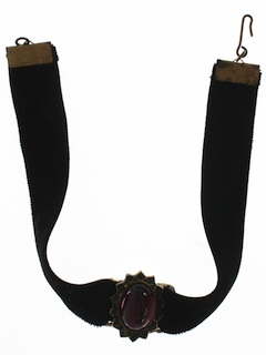 1960's Womens Accessories - Choker Necklace
