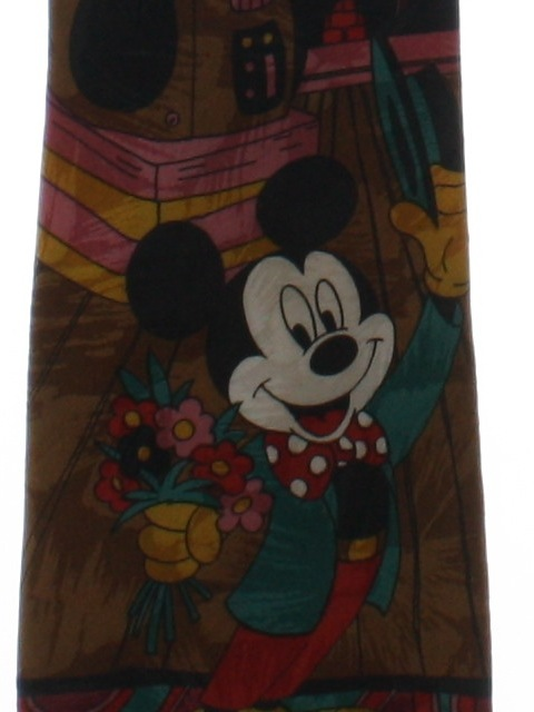 1990's Mens Disney Mickey Mouse Necktie