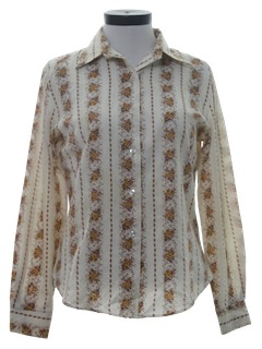 1970's Womens Hippie Shirt