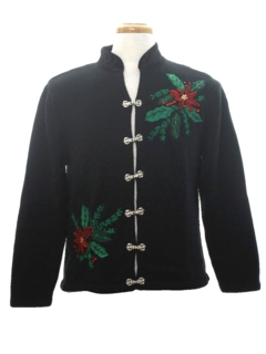1980's Womens Asian Inspired Ugly Christmas Sweater
