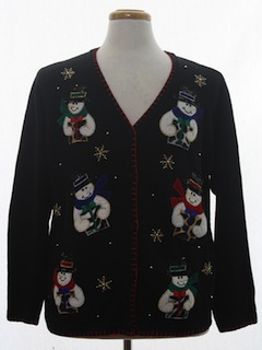 1990's Unisex Ugly Christmas Cardigan Sweater