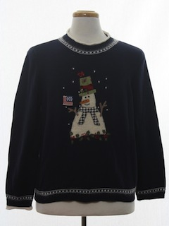 1990's Unisex Patriotic Ugly Christmas Sweater