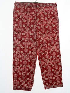1990's Unisex Ugly Christmas Pants to Wear With Your Sweater