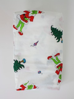 1990's Ugly Christmas Fabric to Use With Your Sweater
