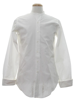 1940's Mens Collarless Shirt