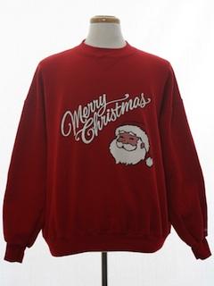 1990's Unisex Vintae Ugly Christmas Sweatshirt