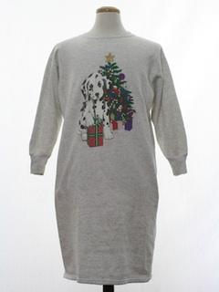 1990's Unisex Dog-gonnit Vintage Ugly Christmas Sweatshirt Pajamas